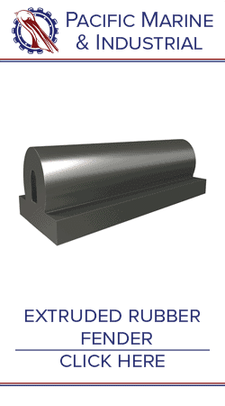Extruded Rubber Marine Fenders