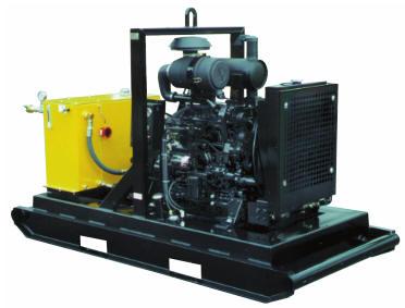 Diesel Hydraulic Power Pack on Diesel Engine Seals